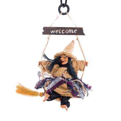 $ CDN2.20 • Buy Halloween Ghost Witch Doll Horror Scary Hanging Decoration Ghost Flying Witch