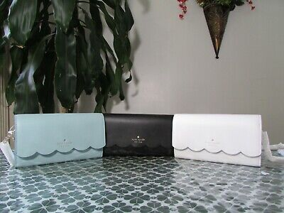 $ CDN124.63 • Buy NWT Kate Spade Smooth Leather Gemma Wallet On A Chain