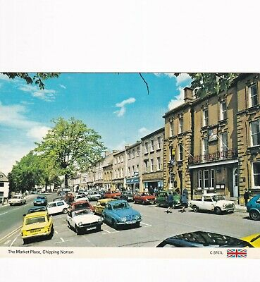 £1.30 • Buy The Market Place Chipping Norton Postcard 1992 Used VGC