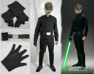 £56.50 • Buy Luke Skywalker Cosplay Costume With Shoe Covers And A Glove