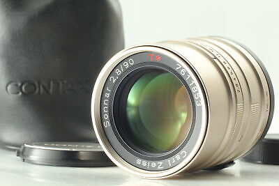 $ CDN226.58 • Buy [MINT W/ Case] Contax Carl Zeiss Sonnar T* 90mm F2.8 Lens For G1 G2 From JAPAN