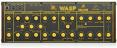 £338.25 • Buy Behringer Eurorack Standard Compliant Hybrid Synthesizer WASP DELUXE