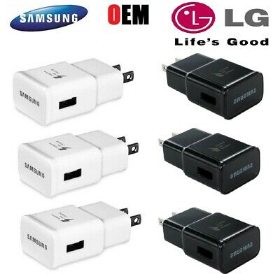 $ CDN10.69 • Buy 3x Adaptive Fast Wall Charger Adapter For Samsung Galaxy S7 S8 S9 S10 Note8 9 10
