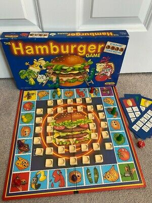 £11.50 • Buy THE HAMBURGER BOARD GAME SPEARS GAMES 1989 Vintage Board Game #329