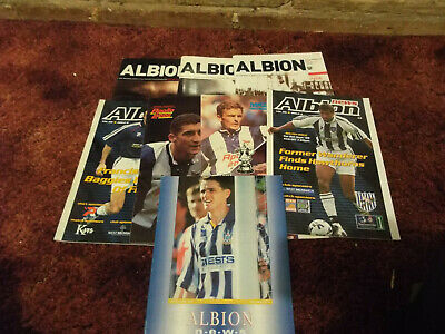 £0.50 • Buy West Brom Football Programmes Bundle From The Last 10+ Years