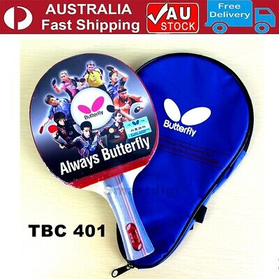 AU42.95 • Buy Butterfly 401 Long Handle Table Tennis Ping Pong Racket Paddle Bat Shakehand FL