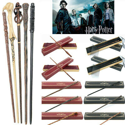 £12.49 • Buy Harry Potter Magic Wand Hermione Dumbledore Voldemort Cosplay Toys Gifts Boxed