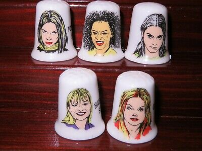 £4.50 • Buy Thimbles Set China Collection - Ladys Spice