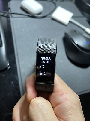 AU49 • Buy Fitbit Charge 2 Fitness Activity Tracker, Size Small Black With Charger