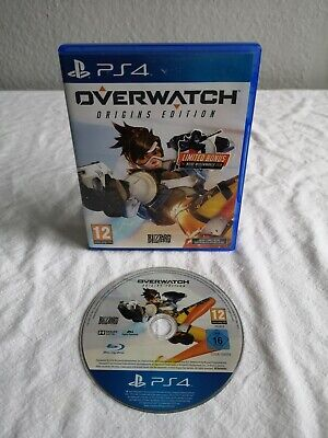 AU37.28 • Buy Overwatch Origins Edition (PlayStation 4 Game) PS4
