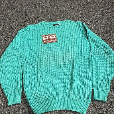 $69.99 • Buy VINTAGE Abercrombie & Fitch Alps Chunky Cable Knit Fisherman Sweater 1980's?