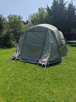 £62 • Buy Vango 400 Tent, 4 Person. Large. Epsom Green. Airbeam. Air Beam. Inflatable.