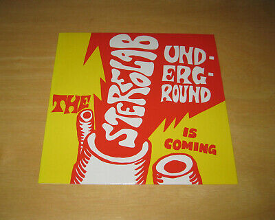 """£12.76 • Buy Stereolab - The Underground Is Coming 7"""" My Bloody Valentine Broadcast Tortoise"""