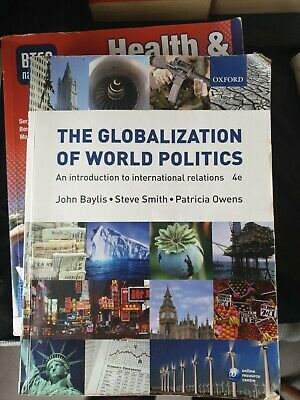 £3.49 • Buy The Globalization Of World Politics - An Introduction To International Relations