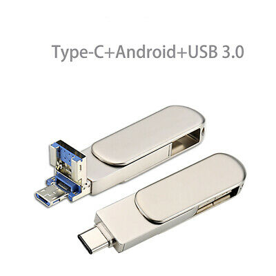 AU35.16 • Buy USB3.0 Type C OTG Pen Flash Drive Memory Stick U Disk For Computer Android Phone