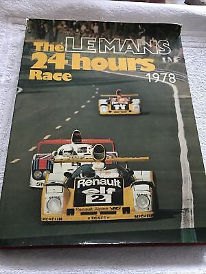 £10 • Buy The Le Mans 24 Hours Race 1978 (English) Hardcover 1979