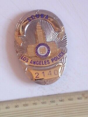 £25 • Buy US State Police Badge City Of Los Angeles