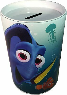 £6.99 • Buy Disney Finding Dory With Nemo - Kids Coin Money Tin Bank