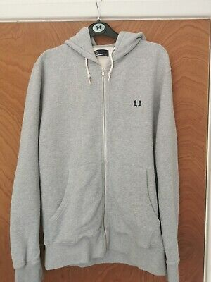 £10.99 • Buy Fred Perry Hoody Size Small In Grey