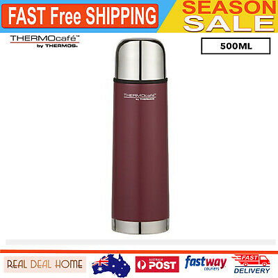 AU23.26 • Buy Scafe Stainless Steel Vacuum Insulated Slim Flask 500ml Matte Red