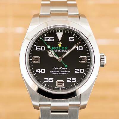 $ CDN12109.09 • Buy Rolex Air King 116900 - Box And Papers From March 2021