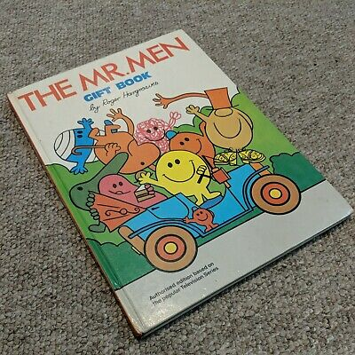 £5 • Buy Mr Men Gift Book - 1975 Annual Style Book Unclipped Roger Hargreaves