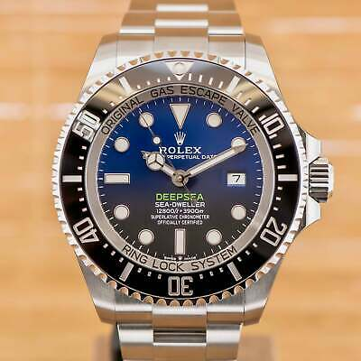 $ CDN25957.95 • Buy Rolex Sea-Dweller Deepsea D Blue - Unworn With Box And Papers From August 2019