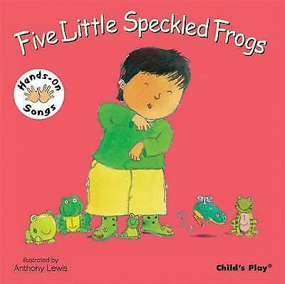 £4.98 • Buy Five Little Speckled Frogs: BSL (British Sign Language) (Board Book, 2008)