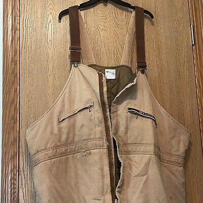 $35.10 • Buy Vintage Key Coverall Bibs Mens Size 4xl Zipper Doesnt Work Has Flaws E6
