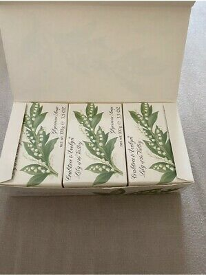£35 • Buy Crabtree & Evelyn Lily Of The Valley Glycerine  Soap 3 X 100g
