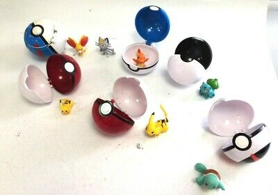 £5.50 • Buy Pre-owned 6 Pokemon Ball Set And Action Figures For Children In Good Condition