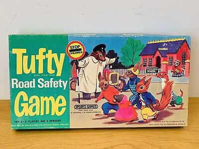 £2.99 • Buy Vintage 1970's Tufty Road Safety Game In Very Good Condition Spears & SON LTD