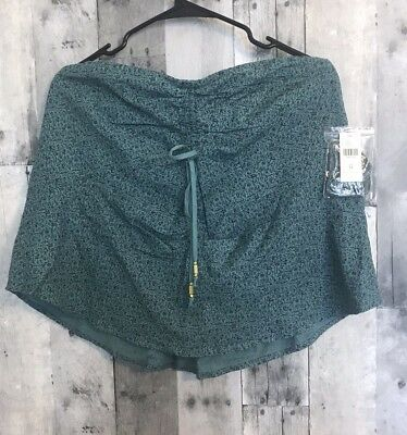 $ CDN17.62 • Buy NWT Anthropologie Maeve Cannes Convertible Tank Top Green Size 14 XL