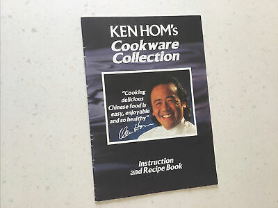 £0.99 • Buy Ken Hom's Cookware Collection Instruction And Recipe Book Retro 1994 Chinese Wok