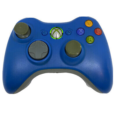 AU29.99 • Buy Xbox 360 Wireless Controller Light Blue (see Pics)