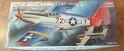£13 • Buy Academy P-51C Mustang 'Red Tails' + Jeep 1/72 Model Kit No.2225