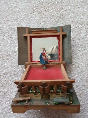 £20 • Buy Vintage  Reuge Swiss Chalet Music Box With Ballerina  Working
