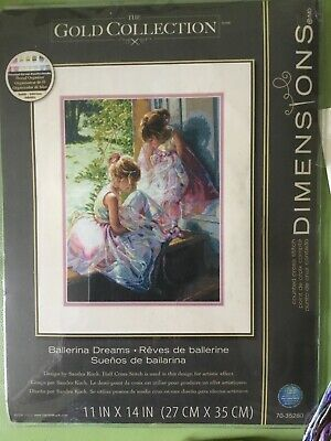 £29.99 • Buy Dimensions Gold Collection Cross Stitch Kit Ballerina Dreams