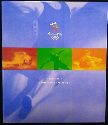 £64.22 • Buy Sydney 2000 Olympic Complete Album Collection (Royal Australian Mint)
