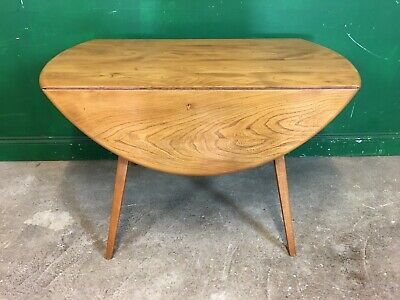 £185 • Buy Ercol Drop Leaf Dining Table Blonde. Courier Available
