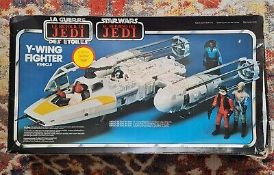 $ CDN259.65 • Buy Vintage 1983 Palitoy Star Wars ROTJ Y-Wing Fighter Boxed
