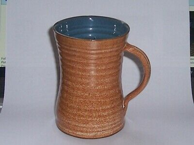 £3.99 • Buy Folkstone Studio Pottery Mug Signed Marc With Pp In Shield