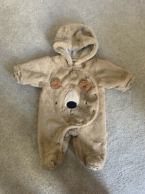 £0.99 • Buy Next 0-3months Baby Teddy Suit
