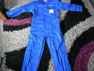 £7.99 • Buy Mens New Dickies Blue Boiler Suit/overalls  Proban 44 Inch Chest .