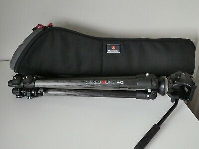 £225 • Buy Manfrotto CARBON ONE 442 Tripod + 701RC2 Head + Manfrotto Padded Bag