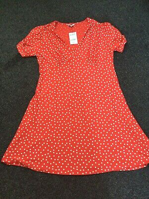 £5 • Buy Next Red Polka Dot Dress Size  18 New With Tags