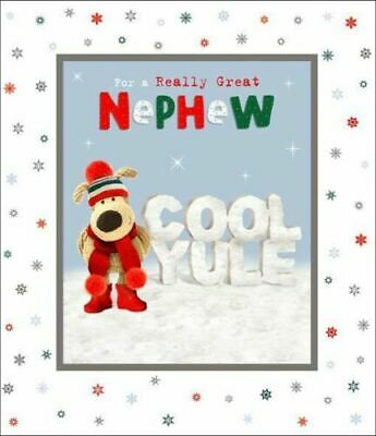 £4.49 • Buy Boofle Really Great Nephew Cool Yule Christmas Greeting Card Cute Xmas Cards