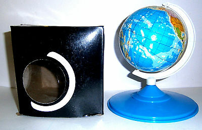 £32.95 • Buy Vintage. Revolving World Globe Rubik Cube Type Puzzle On Stand - Mint In Box..