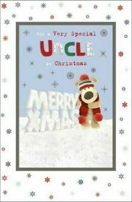 £3.29 • Buy Boofle For A Very Special Uncle Merry Xmas Design Cute Christmas Greeting Card