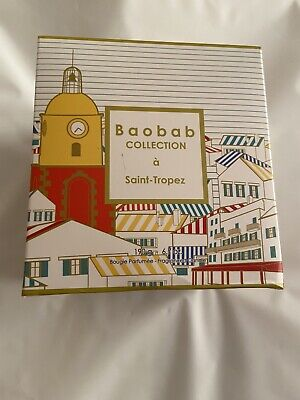 £39.99 • Buy Baobab Collection Saint Tropaz Candle 190g. New & Boxed. *Box Not Perfect*